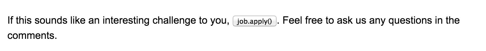 Your job posting sucks