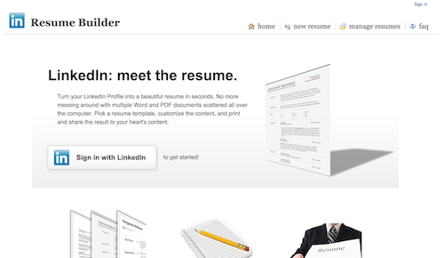 my hackday project is live the resume builder